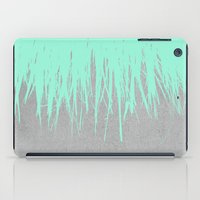 Fringe Concrete Mint iPad Case