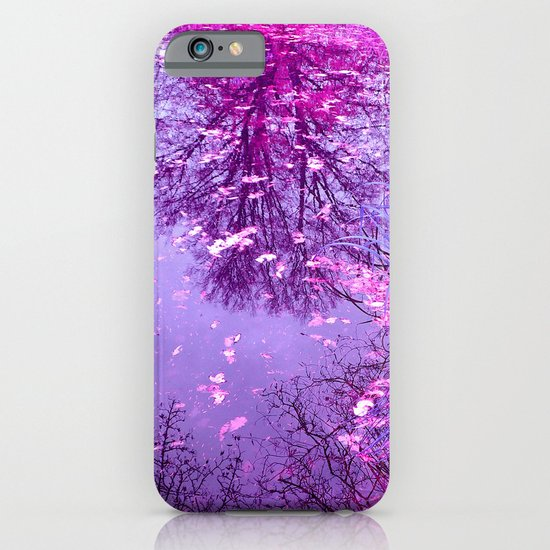 purple garden pond II iPhone & iPod Case