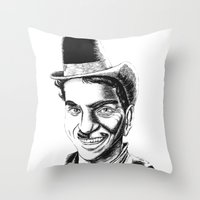 The Comedians Throw Pillow