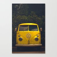 Adventuremobile Canvas Print