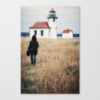 Wandering Canvas Print