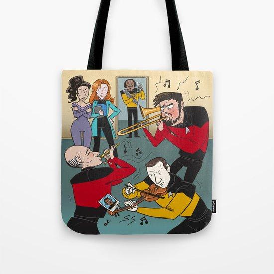 Star Trek Jam Band Tote Bag