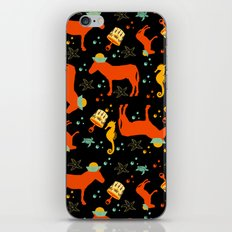 donkey at the seaside all over print iPhone & iPod Skin
