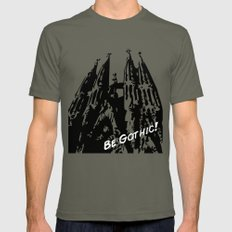 Gaudi - Be Gothic! Mens Fitted Tee Lieutenant SMALL