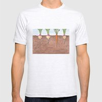 Subterranean Mens Fitted Tee Ash Grey SMALL