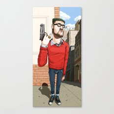 Elegantly Evil Canvas Print