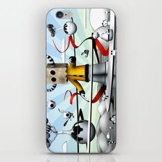 The Paparbag Monster iPhone & iPod Skin