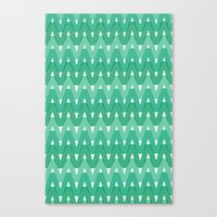 Summer Pattern 7 (Fresh … Canvas Print