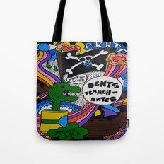 Dents Tranchantes Tote Bag