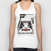 Classic Cafe Sign Unisex Tank Top