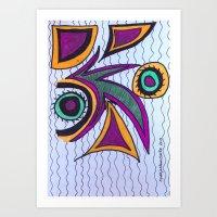 Frazzle Art Print