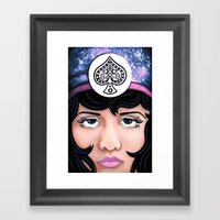 Clara Framed Art Print
