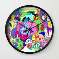 Can you spot the faces? Wall Clock