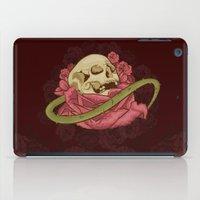 Skull N Roses iPad Case