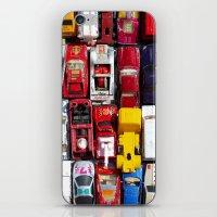 Toy Cars iPhone & iPod Skin