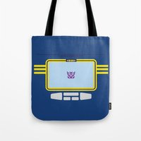 Soundwave Transformers Minimalist Tote Bag