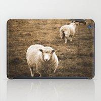Sheep In A Field iPad Case
