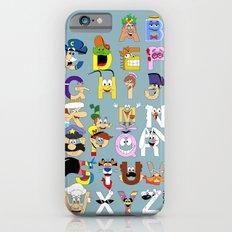 Breakfast Mascot Alphabet Slim Case iPhone 6s