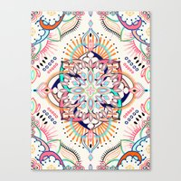 Summer Festival Pop Canvas Print