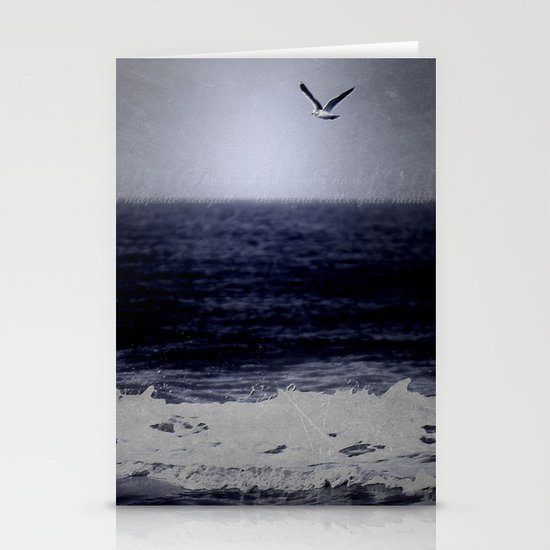 The wind calls your name Stationery Card
