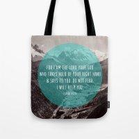 Isaiah 41:13 Tote Bag
