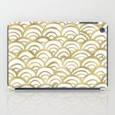 Gold Scallop iPad Case