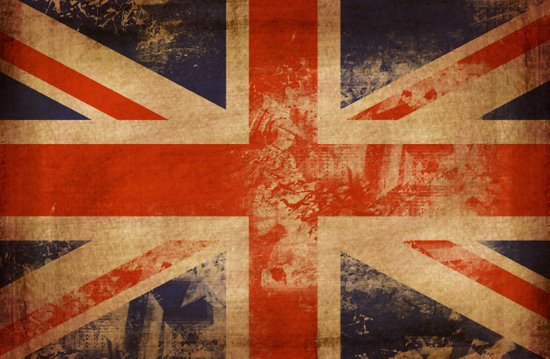 United Kingdom Flag Art Print