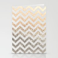 GOLD & SILVER  Stationery Cards