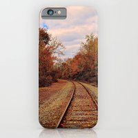 Fall On The Tracks iPhone 6 Slim Case