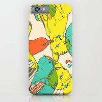 CATS AND BIRDS iPhone 6 Slim Case
