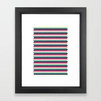 CMYK Framed Art Print