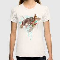 Tortuga Womens Fitted Tee Natural SMALL