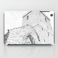 St Serf's Tower, Dysart,… iPad Case