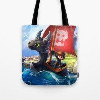 The Dragon Waker Tote Bag