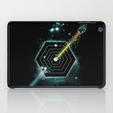 Space and Time Fragmentation Ship iPad Case