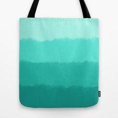 Mint Ombre Tote Bag