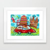 We are coming Framed Art Print