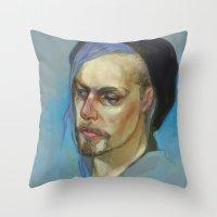 Black Hat II Throw Pillow