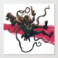Agent Venom Canvas Print