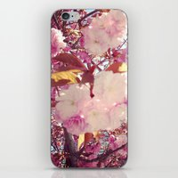 Blurry Blossoms iPhone & iPod Skin