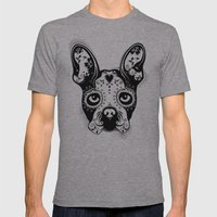 B.Terrier  Mens Fitted Tee Athletic Grey SMALL