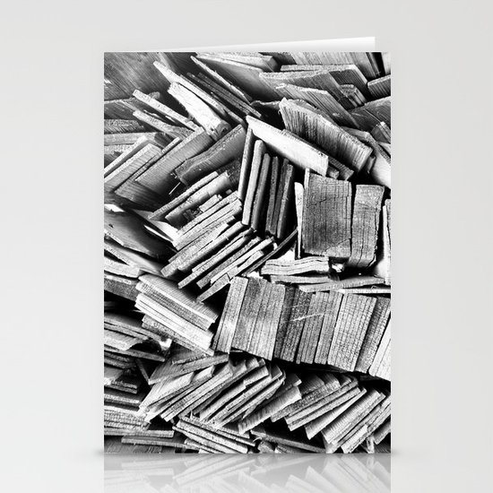 Wood Stationery Card