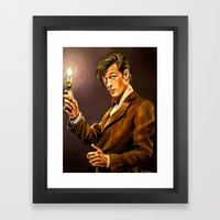 The Eleventh Doctor Framed Art Print