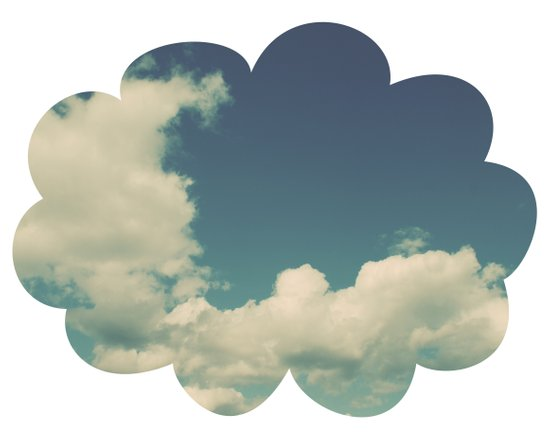 Puffy Cloud Art Print