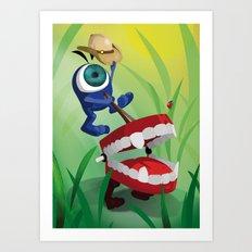 The Eyez - Rodeo Art Print