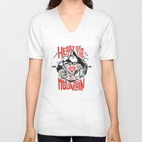 Heart of the Mountain Unisex V-Neck