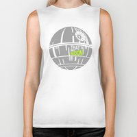 That's No Moon Biker Tank