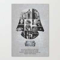 A New Hope COLLAGE variation Canvas Print