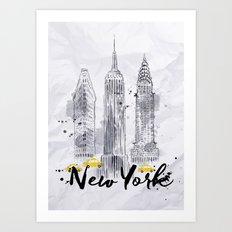 New York 01 Art Print