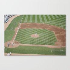 Baseball game Canvas Print